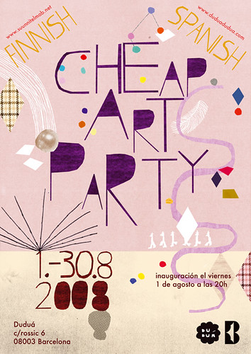 Cheap art party