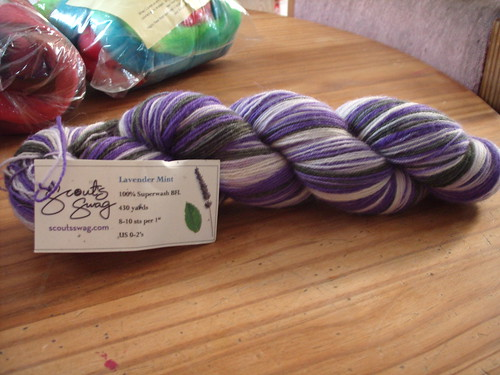 scout's swag lavender & mint