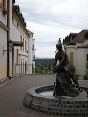 Sculpture in Veszprm (aakaash) Tags: sculpture hungary view veszprm