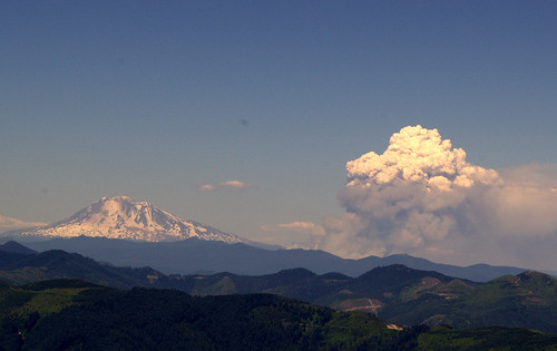 Mt. Adams, Cold Springs Fire