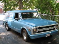 1969 Chevy Carryall Suburban