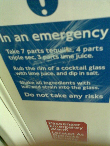 Emergency Tube Margarita taken by Stuart Clary