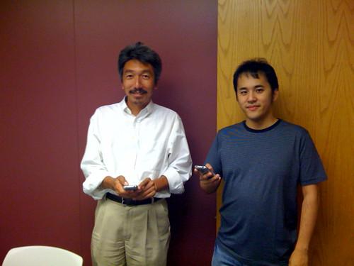 Satoshi and Masuidrive