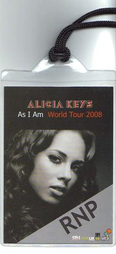 alicia keys id card