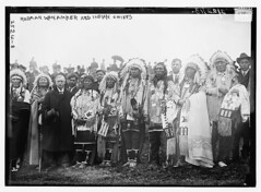 Rodman Wanamaker and Indian Chiefs  (LOC) (The Library of Congress) Tags: newyork libraryofcongress statenisland 1913 wanamaker indianstatue georgegranthambaincollection xmlns:dc=httppurlorgdcelements11 georgegranthambain bainnewsservice dc:identifier=httphdllocgovlocpnpggbain11599 nationalamericanindianmemorial rodmanwanamaker