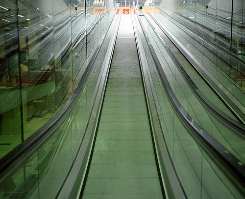 Eurostar's St Pancras International - Ramps