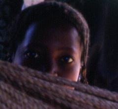 Eyes.  Ndebu, Southeast Sngal (West Africa) (gbaku) Tags: pictures africa girls west girl children town photo eyes village child photos native african femme picture villages photographs photograph westafrica tropical afrika senegal anthropologie towns anthropology femmes africain afrique fulani ethnography ethnology sngal africaine westafrican peul ethnologie fula pullo fulbe peuls afrikas ndebu
