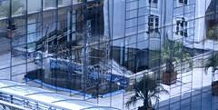 A reflection of Pau (Time to try) Tags: blue reflection photoshop pau g9 amazingcolor canong9 gününeniyisithebestofday theworldseenfromthepowershotg9 timetotry