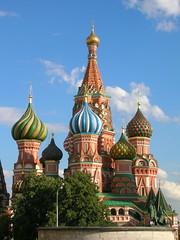 St. Basil - Moscow, Russia (Marjan de B) Tags: travel vacation russia moscow 2008 deblaauwpix