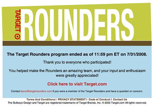 Target Rounders is Dead