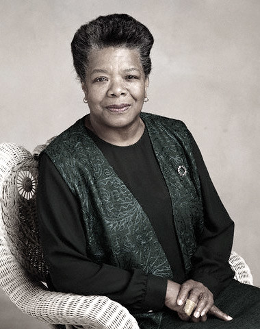 Maya Angelou by you.