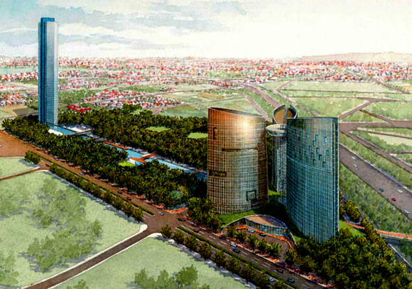 Bladed Trio Win Hanoi Skyscraper Competition