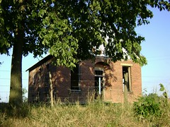 East Monroe, Ohio- Littler Schoolhouse (cziffra1) Tags: county school ohio house brick abandoned rural one decay room east highland forgotten monroe schoolhouse littler