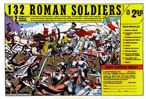 132 Roman Soldiers