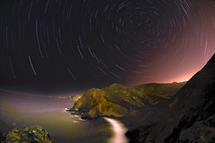 Night Vortex (Harold Davis) Tags: night harolddavis sca marinheadlands startrails tennesseebeach starcircleacademy
