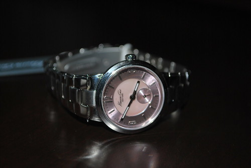 Kenneth Cole Pink ladies watch