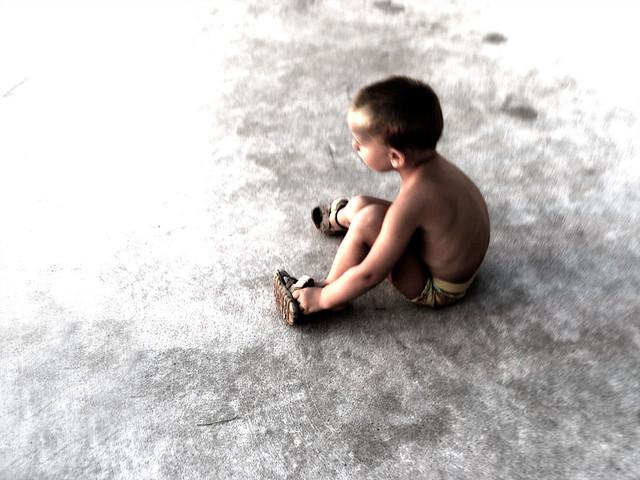 Bambino e Cemento