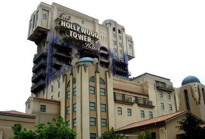 Tower of Terror Disneyland Paris