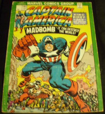 Cover of the Captain America cover