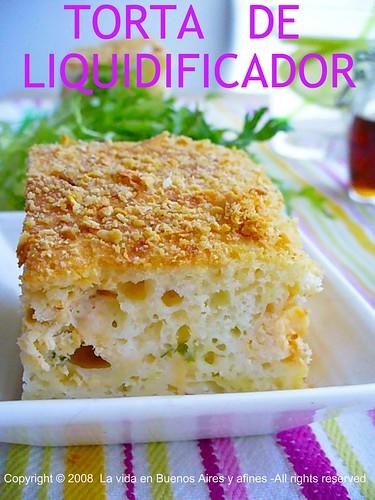 TORTA DE LIQUIDIFICADOR
