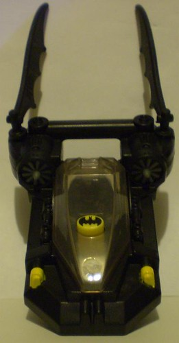 Top view of batboat