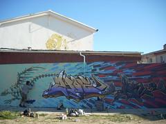 ANDRO + ZADE + DAKE (dake+) Tags: world street wild pared graffiti calle mural arte vida pintura dake zade expresion imaginacion produ pantru