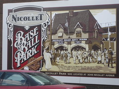 Nicollet Baseball Park by David and Susie Butler