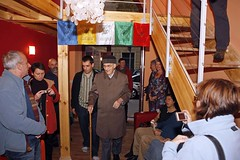 Bhante opens the new centre