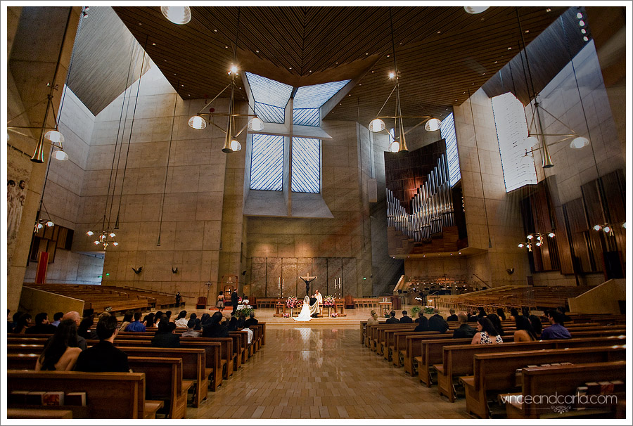 cathedral of angels downtown los angeles wedding
