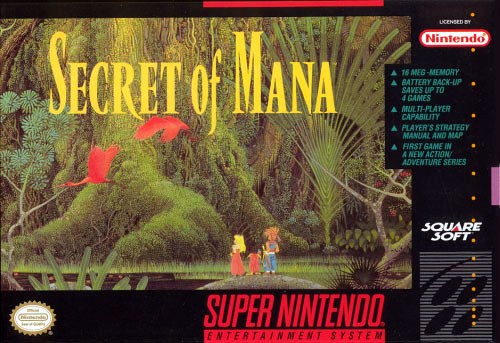 Secret of Mana on Virtual Console