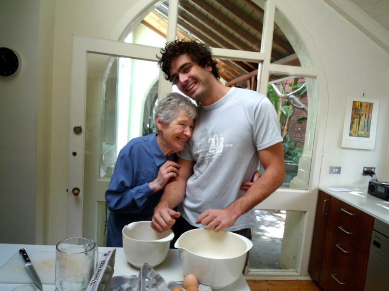 Nonna and Buster