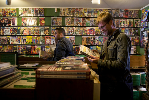 more comics