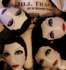 Jill Tracy Dolls by October Effigies