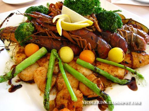 seafood platter the loaf