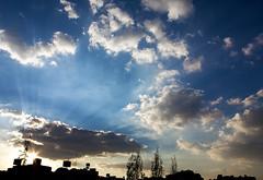 Life..is a Moment in Space... (SonOfJordan) Tags: blue light sky clouds canon eos cityscape amman jordan colourful xsi 450d  samawi sonofjordan shadisamawi  wwwshadisamawicom