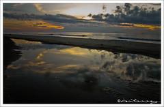 A Gift from God (hilmy2007) Tags: sky reflection beach water dawn malaysia kelantan ps3 a700 melawi sonydslr