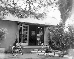 Westminster Branch, Orange County Public Library, 1950s (Orange County Archives) Tags: california history westminster library bicycles historical southerncalifornia orangecounty liblibs orangecountylibrary orangecountypubliclibrary orangecountyarchives orangecountyhistory orangecountyfreelibrary