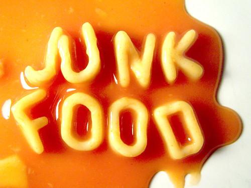 Typographic - JUNK FOOD