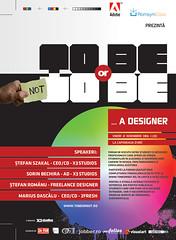 To Be Or Not To Be... A Designer (---stress---origami samurai!) Tags: wallpaper design graphicdesign designer forum ad event sorin romania darc timisoara bechira tobeornot