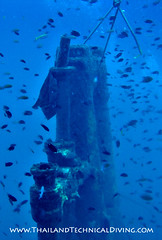 Conning tower poking through thermocline.