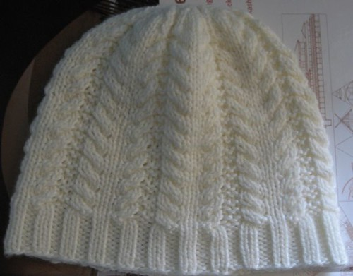 Simple Cabled Hat (take 2)