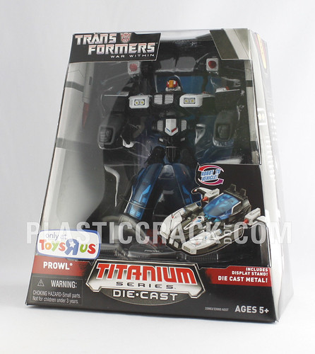 "6"" Titanium War Within Prowl (TRU Exclusive)"