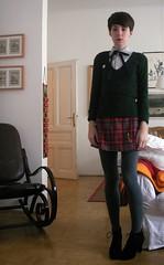 I like a girl in uniform (school uniform)