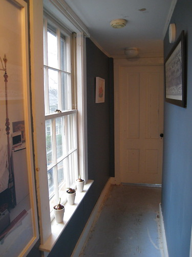 Dark Walls in Upstairs Hallway