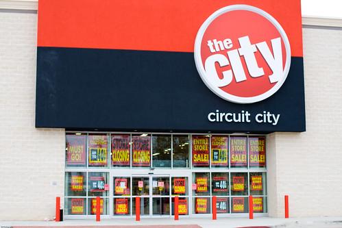 Circuit City opened Nov 1'st Closing Nov 31'st!
