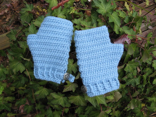 Crochet Fingerless Mitten Pattern Crochet Patterns