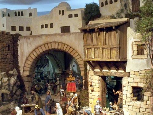 Bethlehem-Grib-Detail
