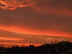 Sunset Wave (Coop Photography) Tags: pink sunset orange washington nikon coolpix richland tricities easternwashington p80 flickrific badgermountain perfectsunsetssunrisesandskys ilovemypics