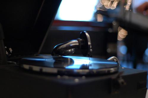Stephan Mathieu's gramophone