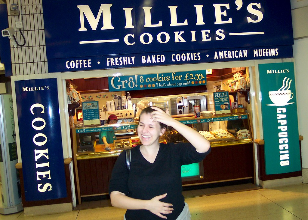 Millie's Cookies (and me!)